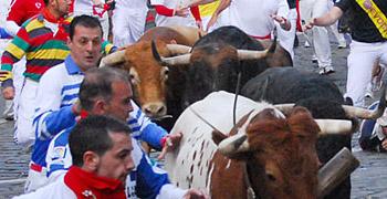 Pamplona, 8º encierro San Fermín | 14-07-11