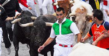 Pamplona, 7º encierro San Fermín | 13-07-11