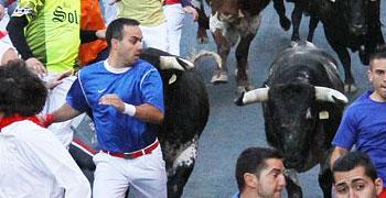 San Sebastián de los Reyes, primer encierro | 28-08-12