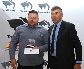 Entrega de premio 2015
