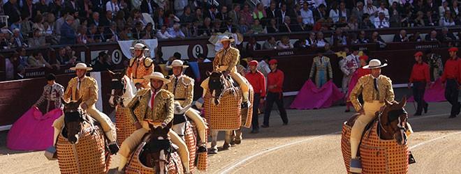 Carteles feria de San Isidro 2016 en Las Ventas