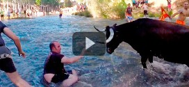 Las Vacas por el Tajo desde el río