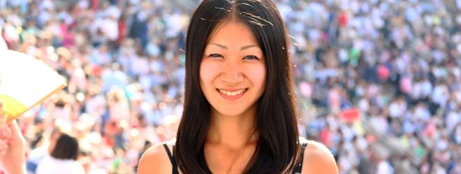 La aficionada Japonesa del tendido 7 de Las Ventas