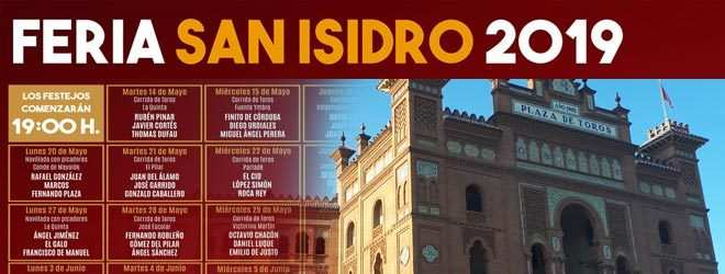 Toros San Isidro 2019